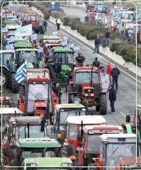 Αποχωρούν από το μπλόκο της Νίκαιας οι αγρότες τηςΘεσσαλίας